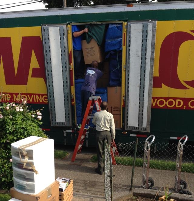 huge moving truck